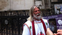 King Arthur Pendragon, Britain's most senior Druid (ITN)