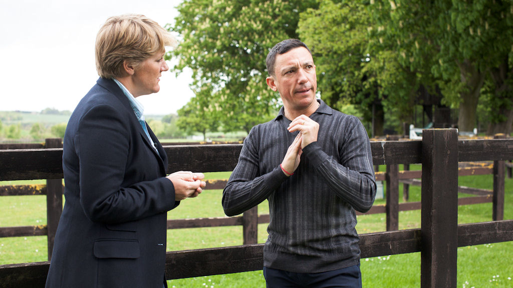 Frankie Dettori tells Clare Balding he feels like Lance Armstrong after his drug shame (C4)