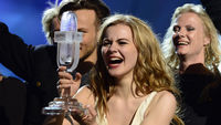 Denmark's Only Teardrops by Emmelie de Forest won Eurovision (Getty)