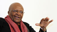 On Tuesday Archbishop Desmond Tutu receives the Templeton prize for his work in