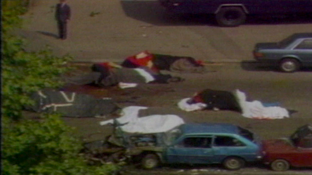 John Anthony Downey is charged with the murders of four soldiers in the IRA's notorious Hyde Park bombing in London 31 years ago.