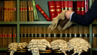 Barristers' wigs (Getty)