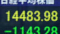 Nikkei index falls (reuters)