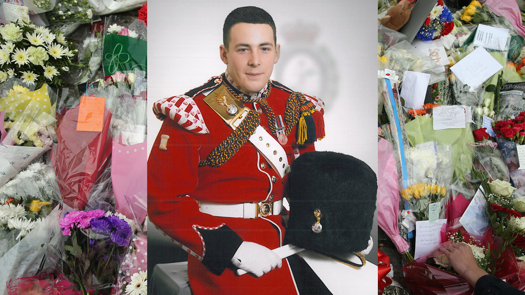 Woolwich attack: victim named as soldier Lee Rigby (picture: MoD)