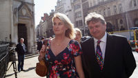 The high court rules that a tweet sent by Sally Bercow, the wife of the Commons Speaker, about Conservative pee Lord McAlpine was libellous (Getty)