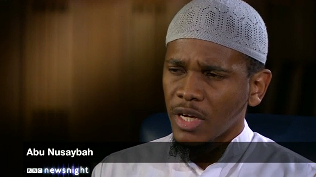 Woolwich murder: Suspect's friend Abu Nusaybah arrested after BBC Newsnight interview