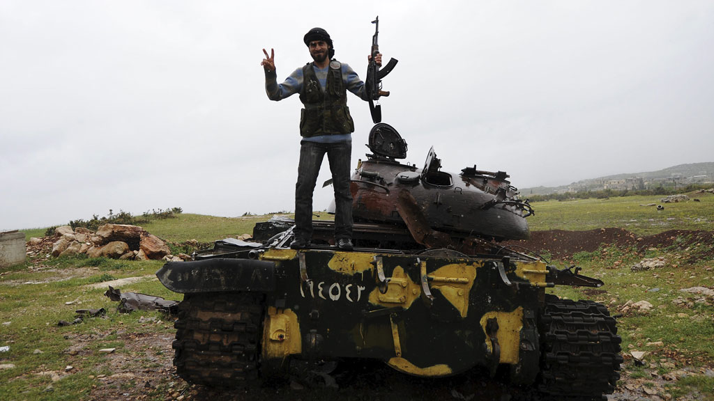 As the EU lifts its embargo on arming Syria's rebels, what weaponry do the anti-Assad forces need in their fight against the regime? (Getty)