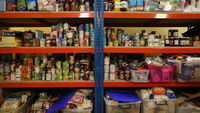 Thousands are forced to rely on food banks to survive, warn Oxfam and Church Poverty Action (Getty)