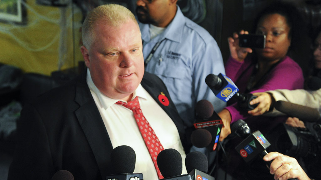 Crack Pipe Mayor Of Toronto Rob Ford No Reason To Quit