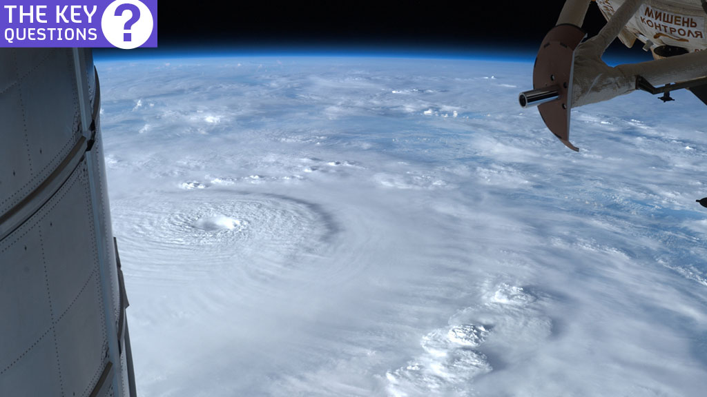 A super typhoon as seen from space (Reuters)