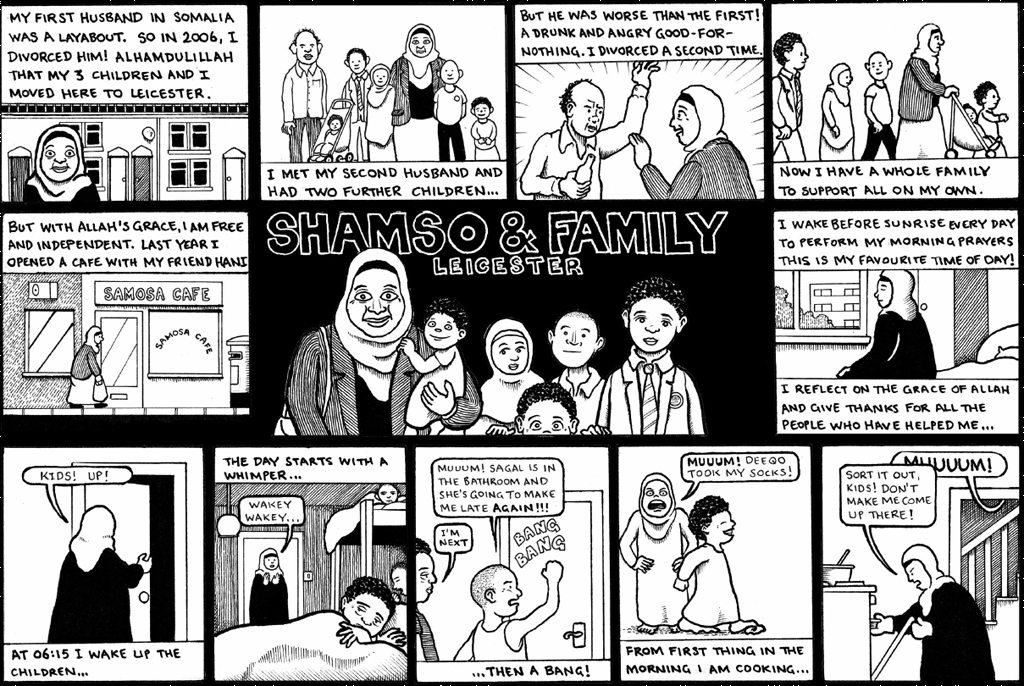 Shamso and Family: a Somali mother's story of UK life