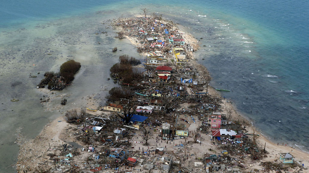 Devastation wrought by Typhoon Haiyan in the Philippines (picture: Reuters)