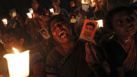 Sri Lanka's 'disappeared' (picture: Reuters)