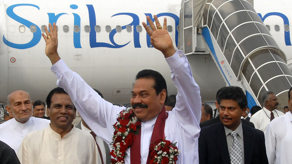 President Rajapaksa (picture: Reuters)