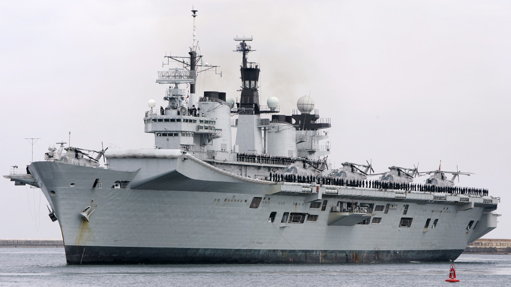 HMS Illustrious is heading to the typhoon-stricken Philippines with aid (Reuters)