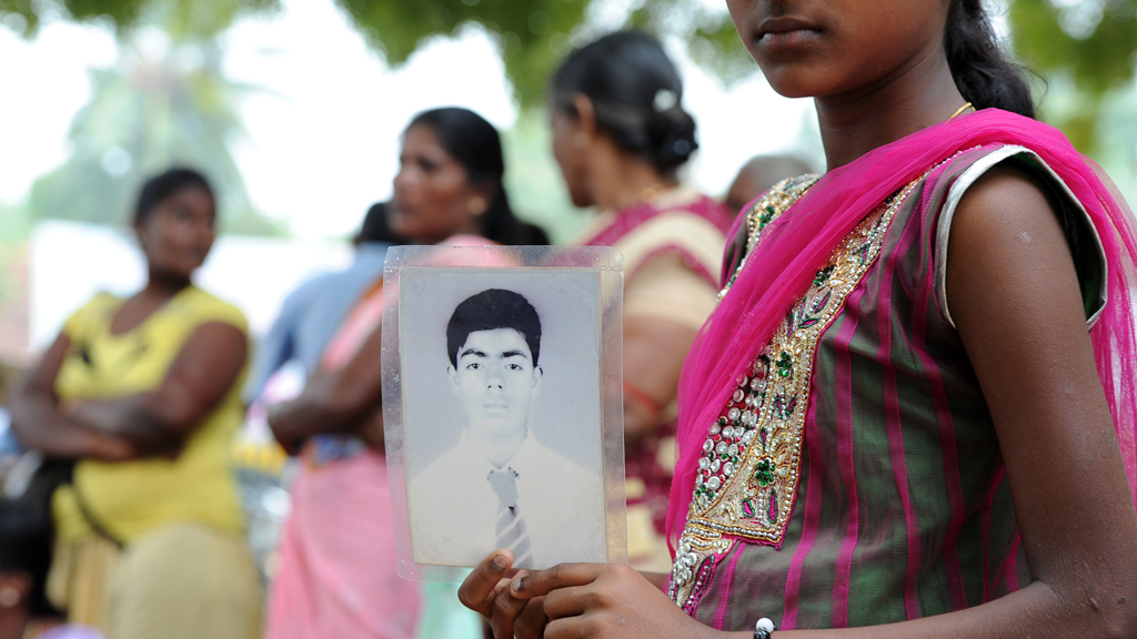 Tamil war widows face sexual harrassment and violence at the hands of the military (picture: Getty)
