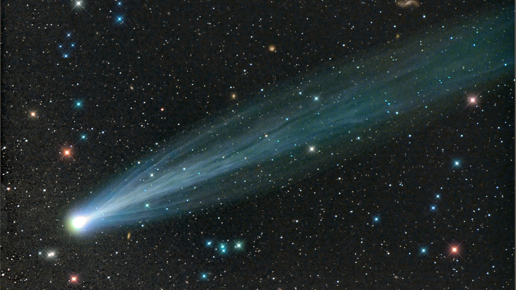 Comet Ison, photographed by Damian Peach - all rights reserved