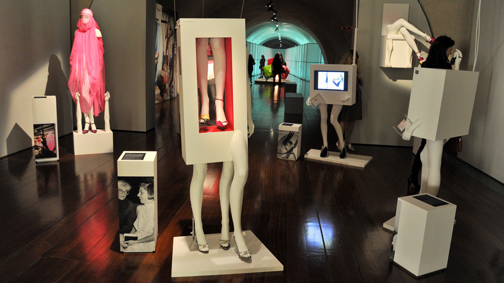 Isabella Blow items on display at Somerset House (picture: Getty)