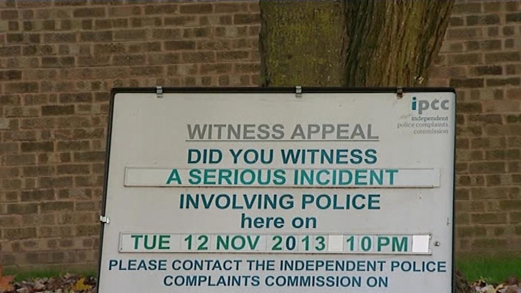 IPCC restraint Terry Smith Surrey police Leon Briggs
