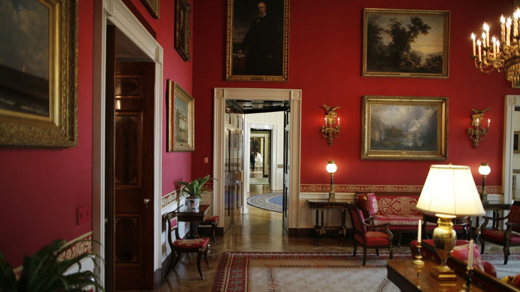 The Red Room, White House (G)