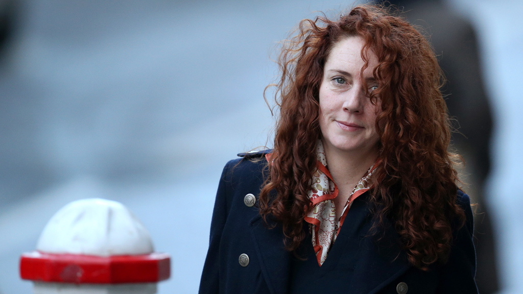 Rebekah Brooks arrives at the phone hacking trial on Monday (picture: Getty)