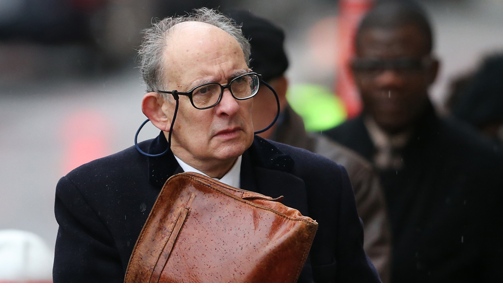 Former managing editor Stuart Kuttneer arrive sta the phone hacking trial on Wednesday (picture: Getty)