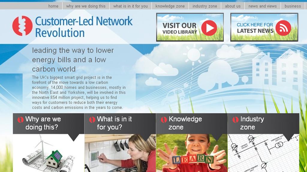 The Customer-Led Network Revolution website