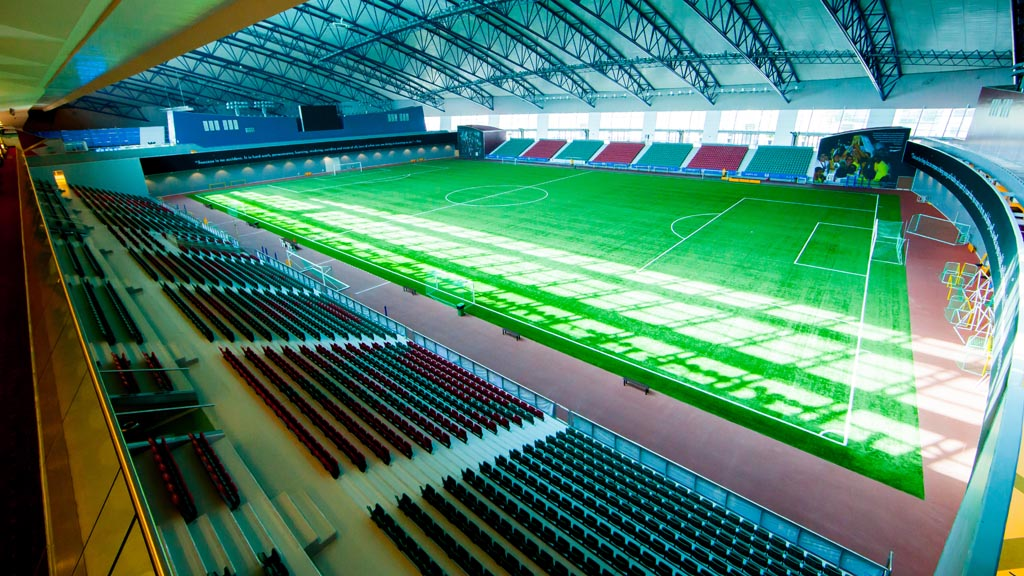 Qatar 2022: Huge air-con systems in stadiums are planned. (Getty)