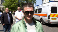 EDL founders Tommy Robinson and Kevin Carroll are leaving the group, saying that it has become too extreme. But anti-racism campaigners say concerns remain over their extremist views (R)