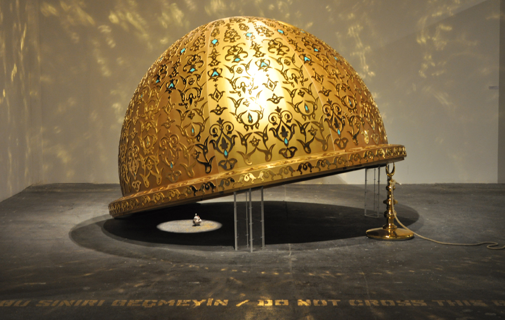 Abdulnasser Gharem's MessageMessenger, which made him the Arab world's most expensive artist to buy