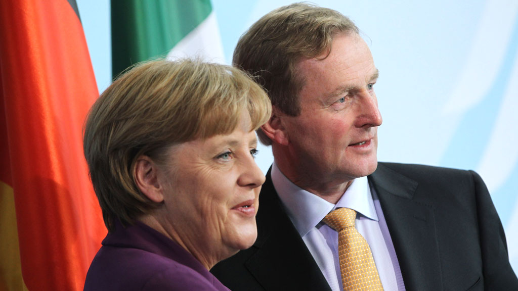 Angela Merkel and the eurozone have imposed strict measures on Ireland (Reuters)