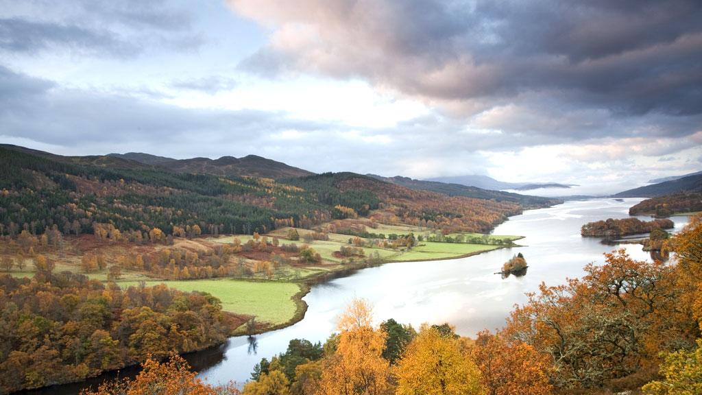 Loch Faskally, Pitlochry, Scotland (G)