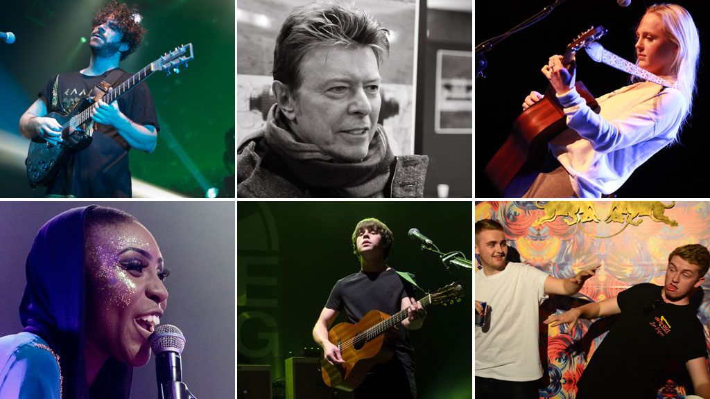 Mercury shortlist, including the Foals, Laura Mvula, David Bowie, Laura Marling (pictures: Getty)