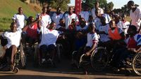 Ade Adepitan Uganda basketball team