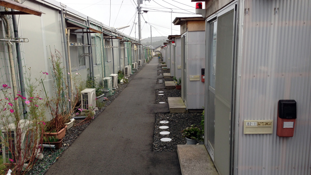 Refugee housing in Iwaki (Garry Thomas)