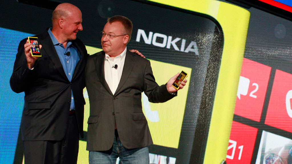 Microsoft has bought mobile phone maker Nokia after it failed to master the smartphone market.