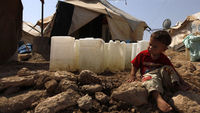 Syria's refugee tragedy as 2 million flee civil war