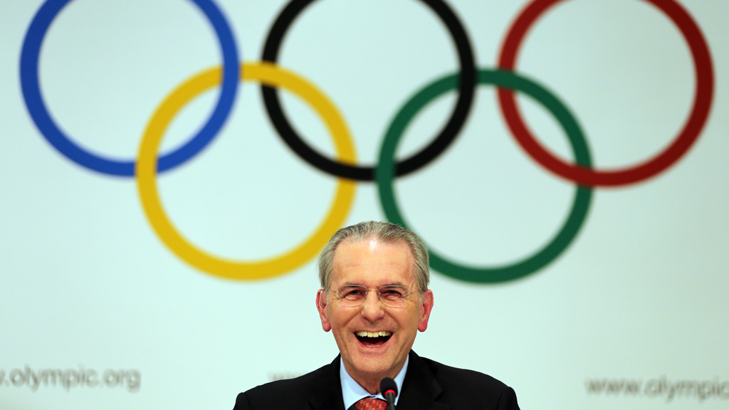 The IOC's Jacques Rogge at the IOC delegates meeting in Argentina (Getty)