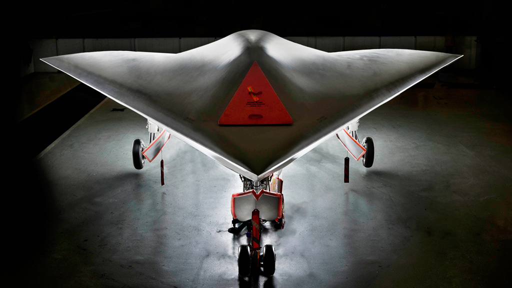 Taranis, the stelthy autonomous combat aircraft being developed by BAE (picture: BAE)