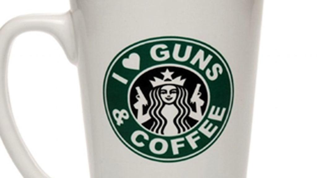 pro gun group logo on mug