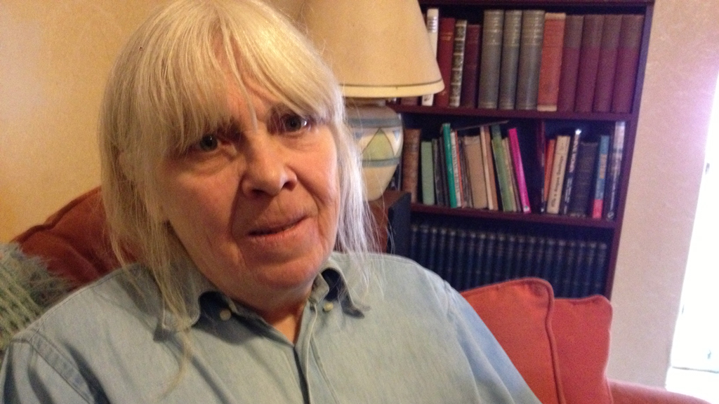 Annie Harrower-Gray who challenged the bedroom tax and won (Channel 4 News)