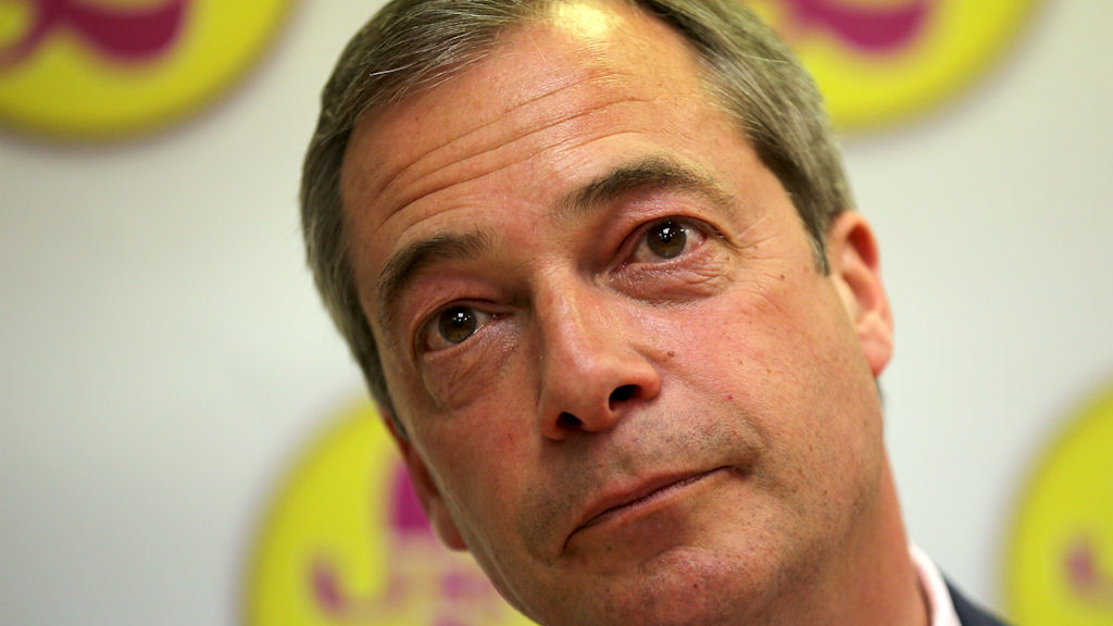 Ukip leader Nigel Farage. (Getty)