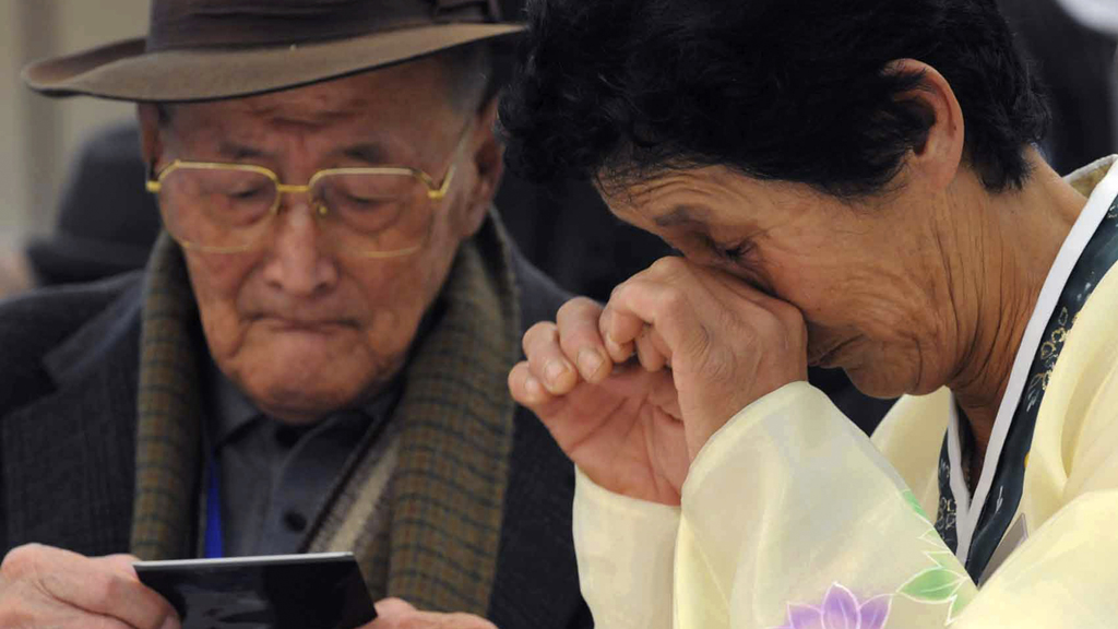 North Korea cancels a planned reuinion of families divided by the Korean War (picture: Reuters)
