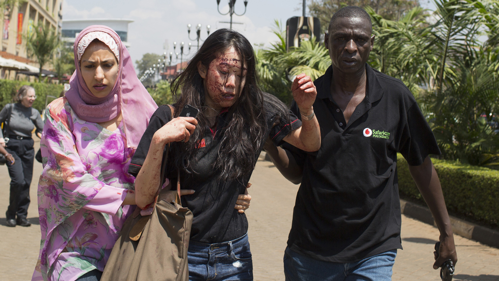 At least 59 people, including three British nationals, have been killed in the Nairobi Westgate shopping mall attack (picture: Reuters)