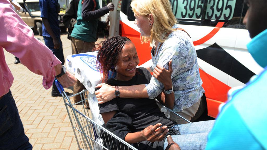 Al-Shabaab militants are still inside the Westgate shopping centre in Nairobi, Kenya