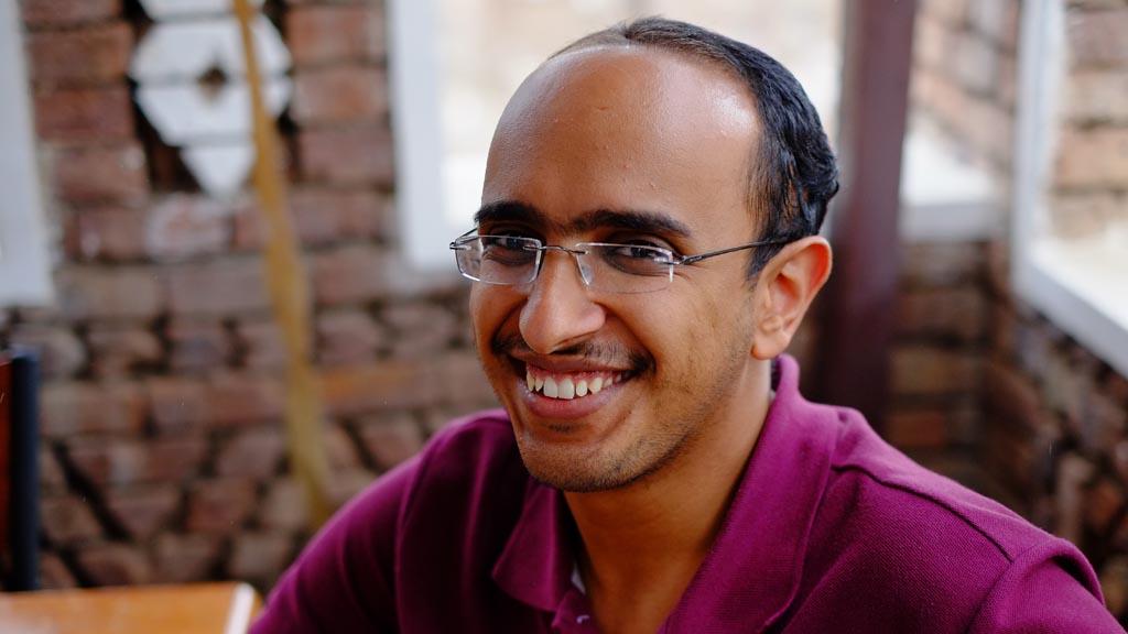 Baraa Shiban, Yemeni human rights activist.