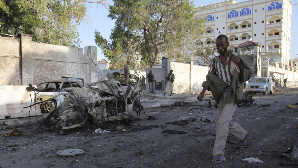Al-Shabaab claims responsibility for Mogadishu bomb attack