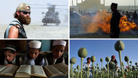 Afghanista - then and now (pictures: Reuters and Getty)