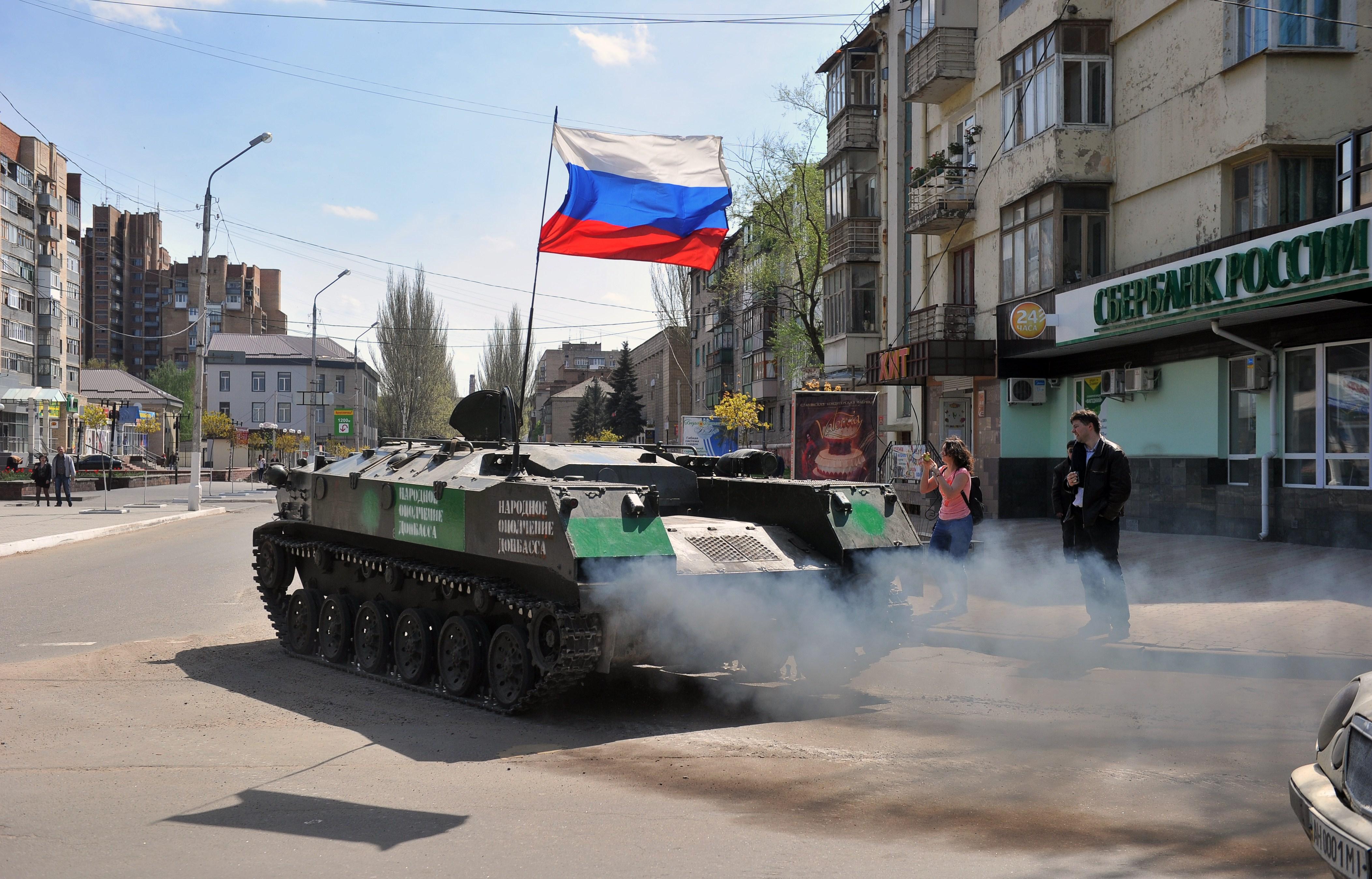 Russia Kiev Breaking Geneva Accord On Ukraine Channel 4 News