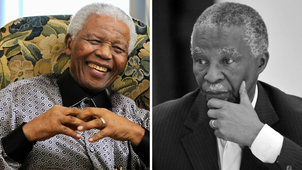 Nelson Mandela and Thabo Mbeki (pictures: Getty)